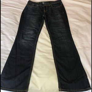 Mossimo curvy fit boot cut size 6s fit4
